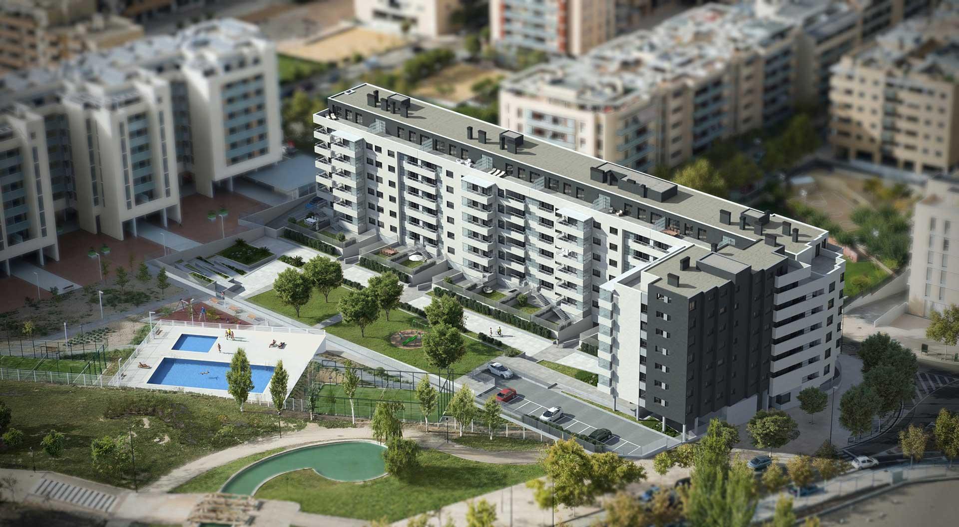 Edificio miranda castillo balduz - Espacios verdes logrono ...